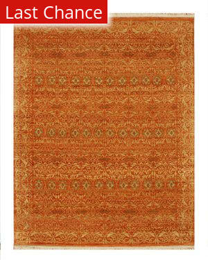 Rugstudio Sample Sale 53450R Pumpkin Area Rug