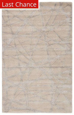 Rugstudio Sample Sale 169779R Parchment - Chateau Gray Area Rug