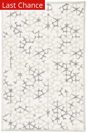 Rugstudio Sample Sale 131861R Light Gray - Plum Kitten Area Rug