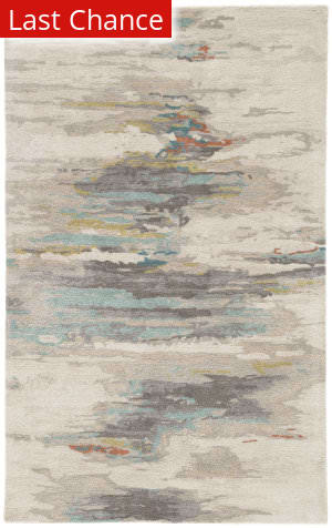 Rugstudio Sample Sale 186067R Gray - Blue Area Rug