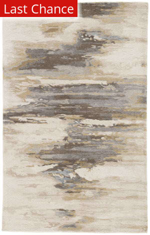 Rugstudio Sample Sale 186068R Cream - Gold Area Rug