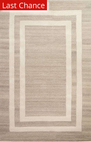Jaipur Living Gramercy By Kate Spade New York Double Border Gkn26 Platinum Area Rug