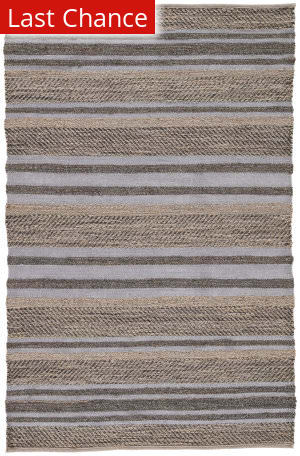 Rugstudio Sample Sale 158269R Charcoal Gray and Steel Gray Area Rug