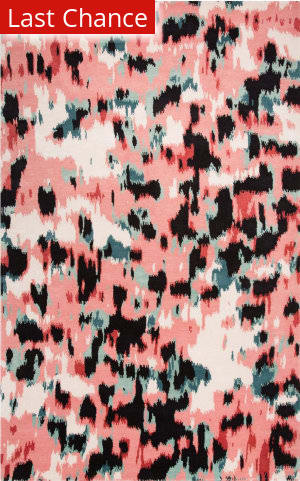 Jaipur Living Murray By Kate Spade New York Watercolor Leopard Mkn01 Pink - Black Area Rug