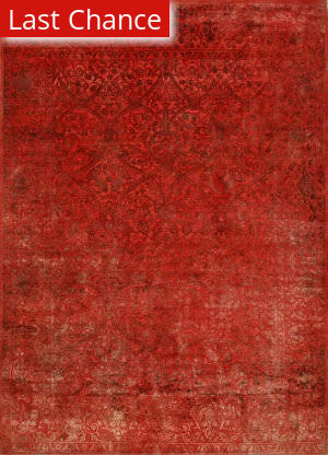 Rugstudio Sample Sale 205830R Faded Rose - Faded Rose Area Rug