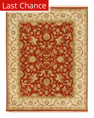 Jaipur Living Atlantis Padma AL16 Red Oxide/Soft Gold Area Rug