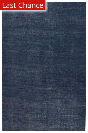 Rugstudio Sample Sale 171165R Ensign Blue - Antique White Area Rug