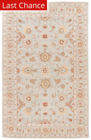 Rugstudio Sample Sale 102729R Glacier Gray - White Sand Area Rug