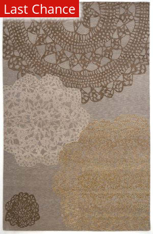 Rugstudio Sample Sale 53363R Silver Area Rug