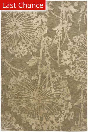 Rugstudio Sample Sale 53362R Light Gold Area Rug