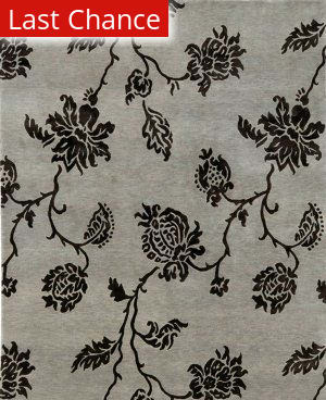 Jaipur Living J2 Anna Purna J234 Medium Gray Outlet Area Rug