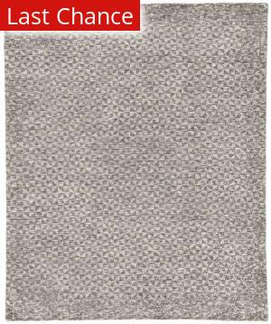 Rugstudio Sample Sale 186090R Dark Gray - Ivory Area Rug