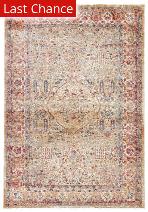 Rugstudio Sample Sale 169950R Taos Taupe - Whisper White Area Rug