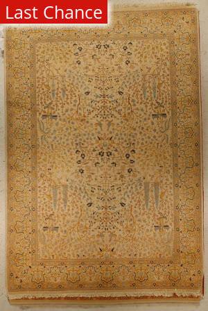 J. Aziz Haj Jalili V-1665 Sand / Black Area Rug
