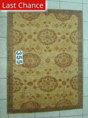 J. Aziz Peshawar Novelty Beige- 86870 Area Rug