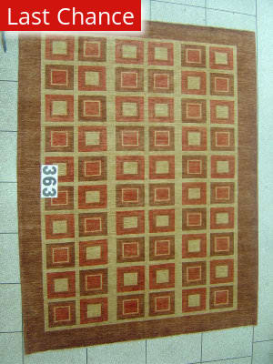 J. Aziz Peshawar Novelty Brown- 86890 Area Rug
