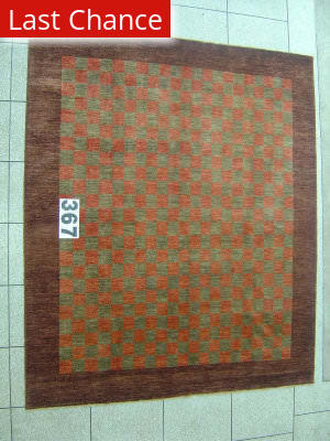 J. Aziz Peshawar Novelty Green- 86914 Area Rug