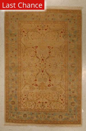 J. Aziz Shah Abbas Antiqued V-1731 Iv-Lbl 86788 Area Rug