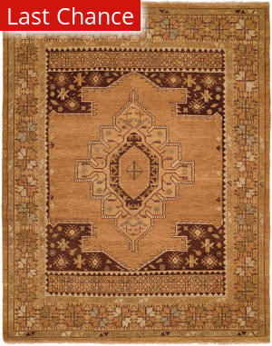 Rugstudio Sample Sale 126410R Tribal Tan Area Rug