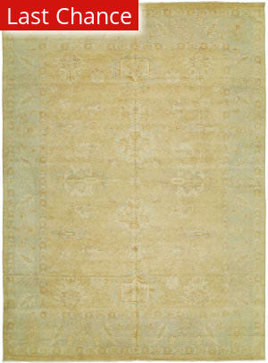 Rugstudio Sample Sale 126480R Apricot - Aqua Area Rug