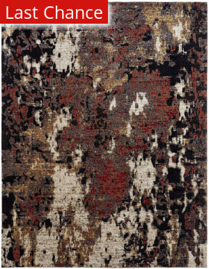 Rugstudio Sample Sale 204966R Ebony Multi Area Rug