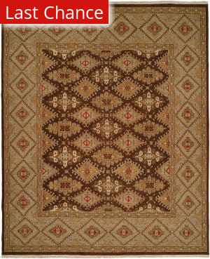 Rugstudio Sample Sale 146209R Brown - Green Area Rug