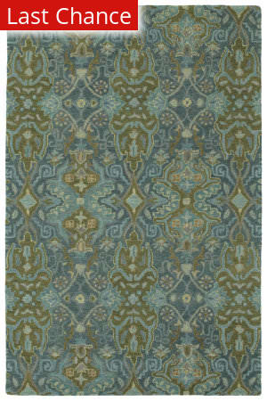 Rugstudio Sample Sale 189487R Peacock Area Rug
