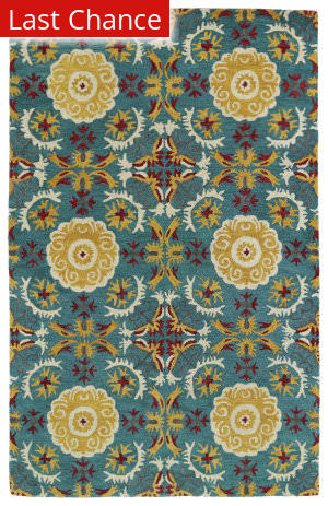 Rugstudio Sample Sale 112835R Turquoise Area Rug