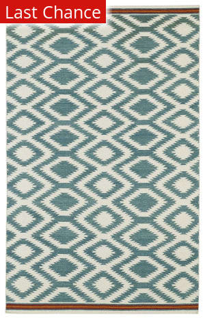 Rugstudio Sample Sale 100305R Turquoise Area Rug