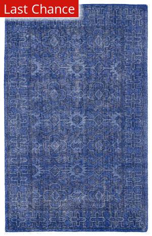 Rugstudio Sample Sale 105851R Blue Area Rug