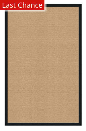 Linon Athena At0201 Sisal / Black Area Rug