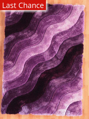 Rugstudio Sample Sale 101488R Purple Area Rug