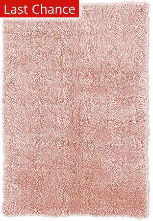 Linon New Flokati 1400 Grams Pastel Pink Area Rug