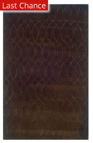 Linon Ashton Slsg60 Chocolate Area Rug