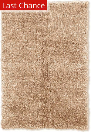 Linon 3a Flokati Flk-3at 2000grams / Tan Area Rug
