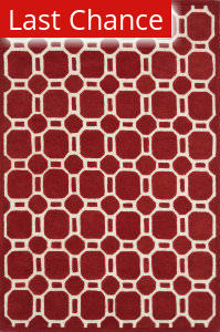 Rugstudio Sample Sale 92041R Red Area Rug