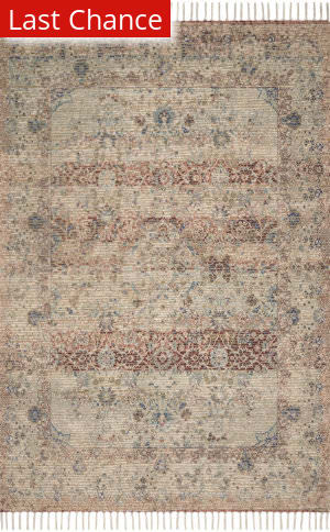 Rugstudio Sample Sale 192362R Seafoam Green - Brick Area Rug