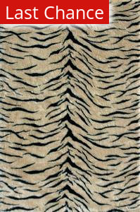 Rugstudio Sample Sale 37731R Tiger Area Rug
