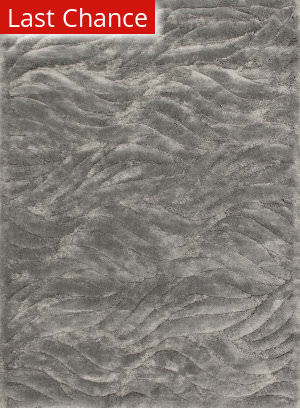 Loloi Dream Shag Dr-02 Silver Area Rug