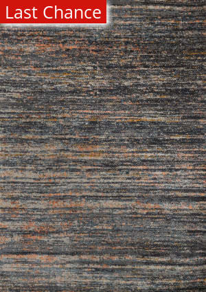 Rugstudio Sample Sale 153791R Slate - Orange Area Rug