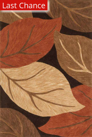 Loloi Eden EA-03 Brown / Rust Area Rug