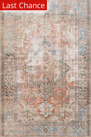 Rugstudio Sample Sale 186149R Terracotta - Sky Area Rug