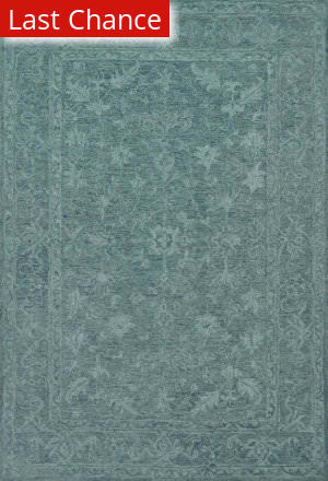 Rugstudio Sample Sale 167387R Teal Area Rug