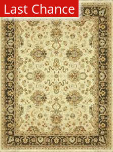 Rugstudio Sample Sale 37869R Ivory-Mocha Area Rug