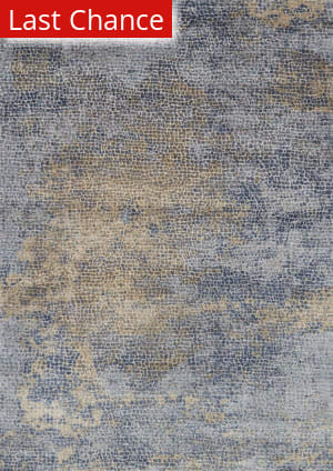 Rugstudio Sample Sale 181646R Ocean - Gold Area Rug
