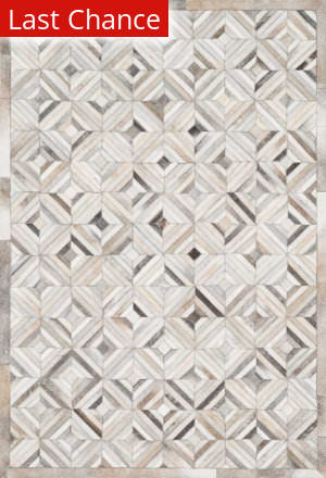 Rugstudio Sample Sale 113717R Ivory / Grey Area Rug