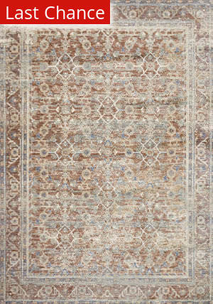 Rugstudio Sample Sale 199666R Terracotta - Multi Area Rug