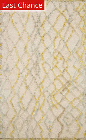 Rugstudio Sample Sale 199684R Ivory - Multi Area Rug