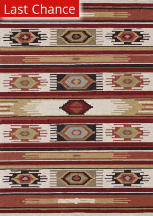 Loloi Taos TO-02 Ivory / Multi Area Rug