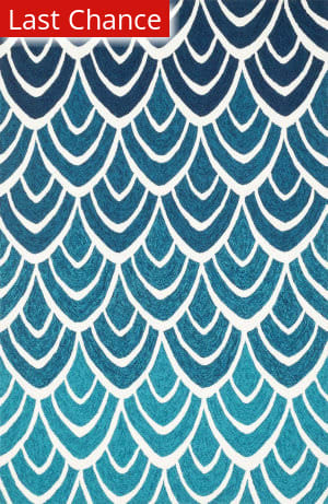Rugstudio Sample Sale 113878R Blue / Multi Area Rug